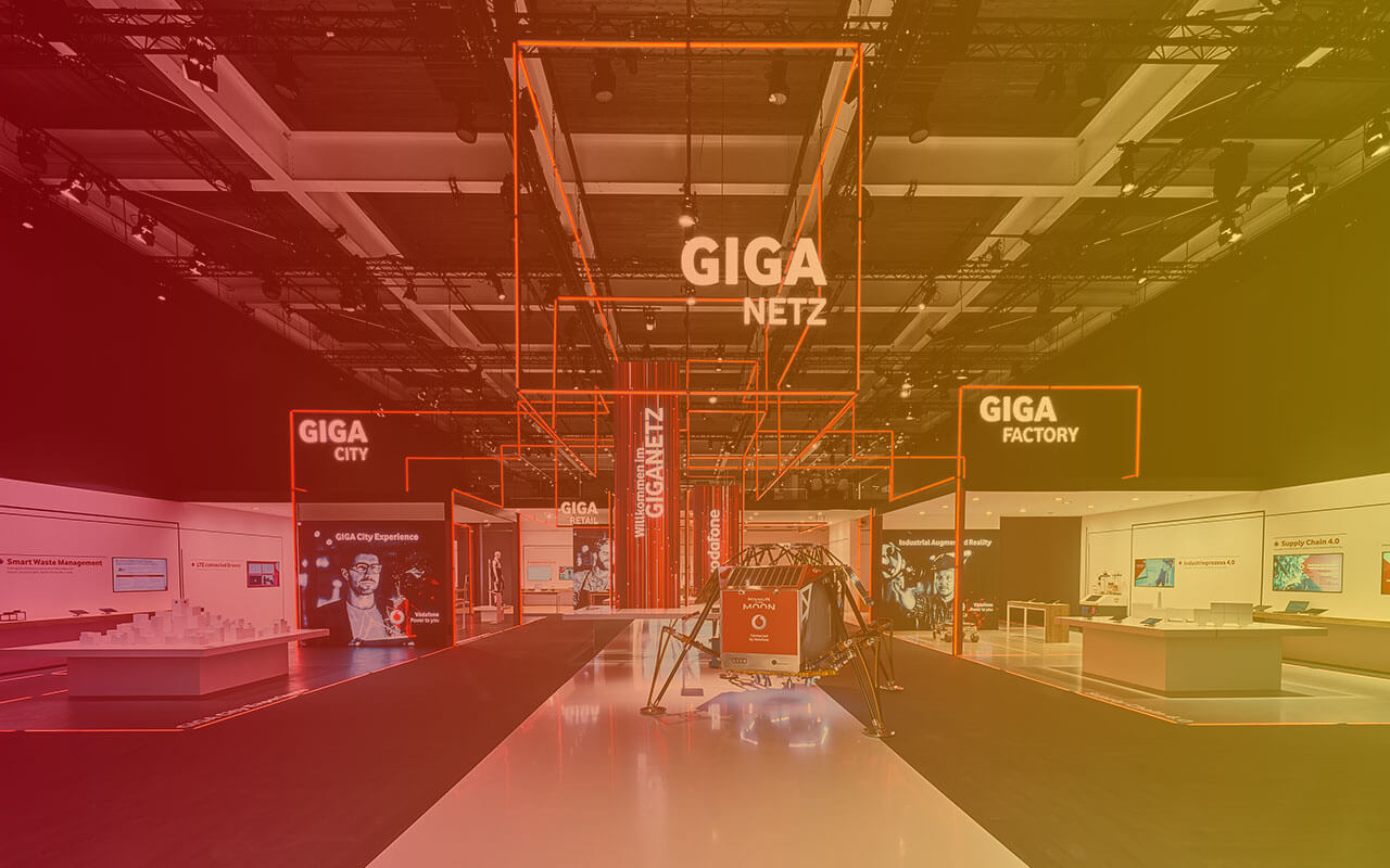 Vodafone Cebit 2017 - created by Service Factory
